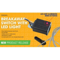 Breakaway Switch and Cable  LED Light