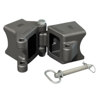 Fulton Fold-Away Drawbar Hinge 75x75 Bolted
