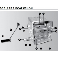CM Winch Spares - 10:1 - Wide Body