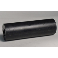 150mm L Marin X Side Roller Black Rubber