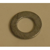Boat Roller Pin - Flat Washer 16mm Galvanised