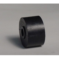 040mm L Marin X Side Roller Black Nylon