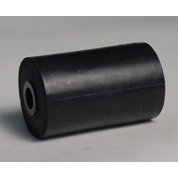 100mm L Marin X Side Roller Black Nylon
