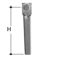 CM Wobble Roller - Post for Dual Upright