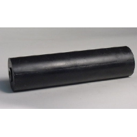 250mm L Marin X Side Roller Black Nylon