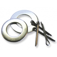 Trojan Keel Roller - Split Pin & Washers - Stainless Steel