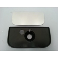 Clearview Mirror - Replacement Small Mirror & Plate