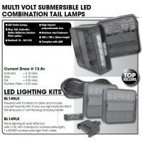 CM LED Tail Lamp Kit - Combo BL140LK MV